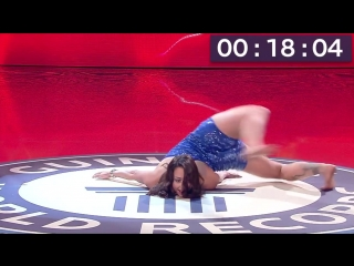 SLs Contortion - Most full body revolutions in one minute - Guinness World Records
