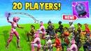 1 RIFT-TO-GO vs 20 PLAYERS! (Fortnite Battle Royale 16)