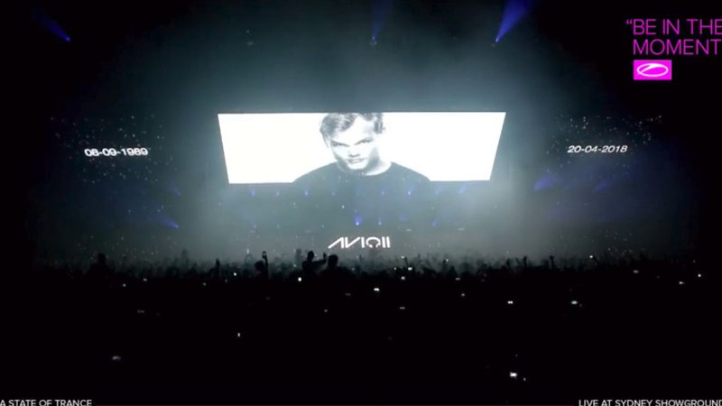 Tribute to Avicii - Sydney, A State of Trance 850 21.04.2018