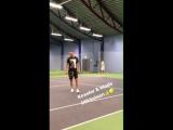 22 VIDEO Mads and the boxer @MikkelKessler during a tennis party at @freklame in Denmark today April 30th. MadsMikkelsen Mikkelk