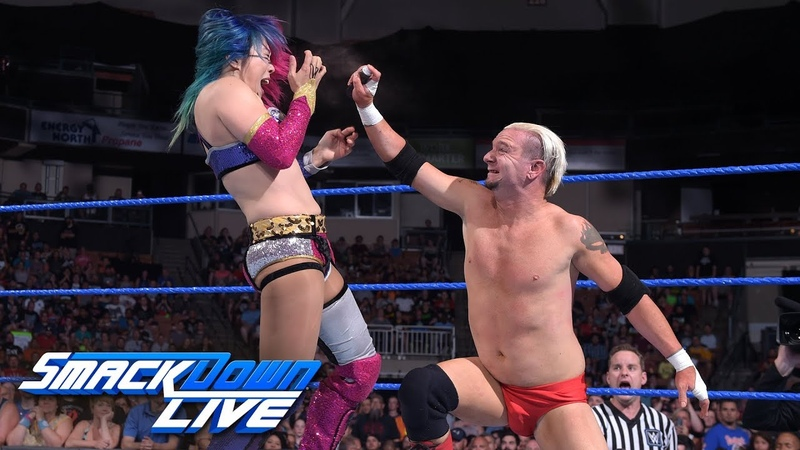 BLOG_video | Asuka looks to punish James Ellsworth in a Lumberjack Match: SmackDown LIVE, July 10, 2018