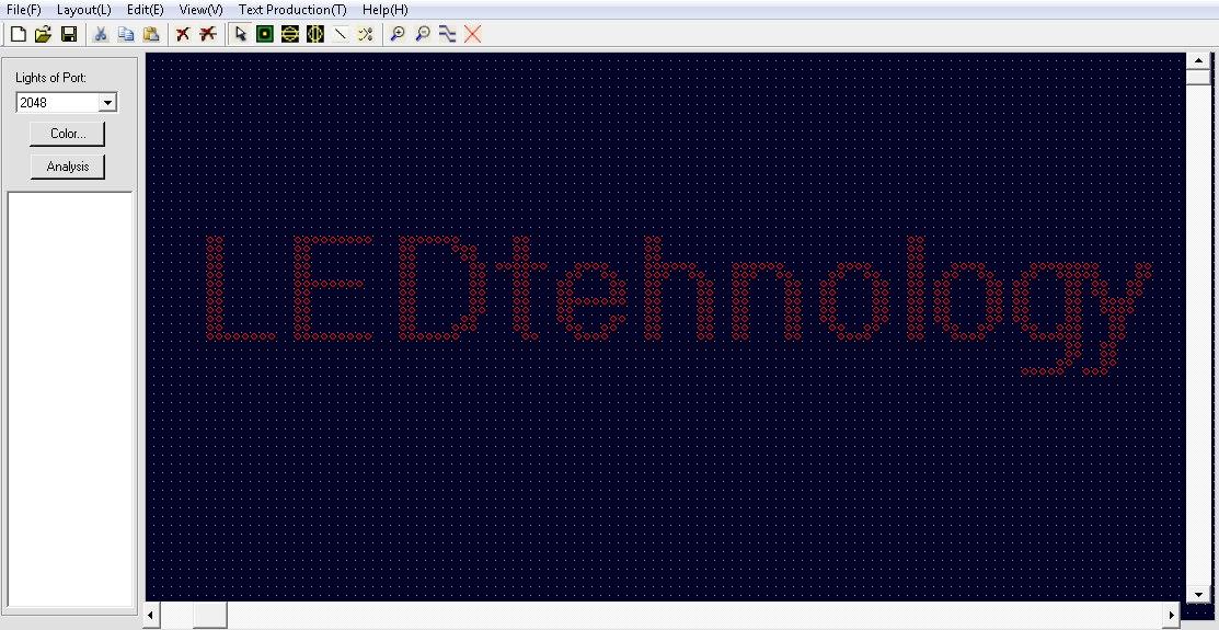 Скачать программу LedEdit. Инструкция на русском