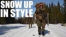 Winter Warfare Marines on Skis