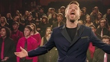 Peter Hollens + 200 Kids Sing A Cappella Style You Raise Me Up by Josh Groban