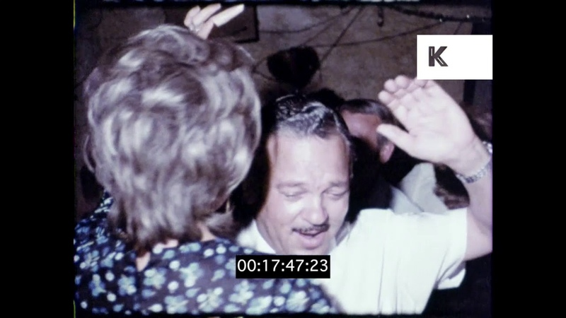 Magaluf Nightlife in the 1960s Spain HD from 16mm