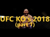 All UFC Knockouts 2018