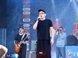 Жуки - Батарейка (FIFA Fan Fest, Москва 6.07.2018)