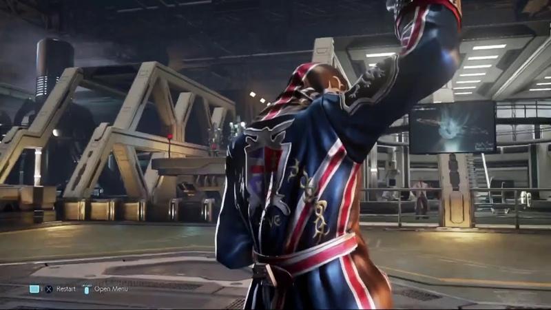 Steve Fox Tekken 7 Rage Art