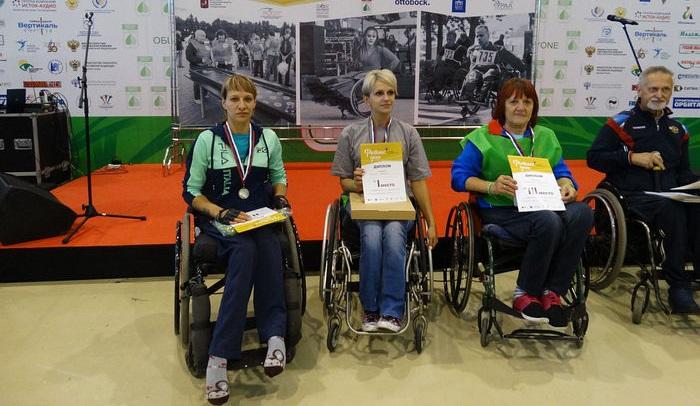 В турнире по настольному теннису и гонках на колясках нашим спортсменам не было равных, и они заняли весь пьедестал почёта!