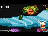 Battletoads and Double Dragon игра на Денди 1993 Прохождение на русском Батлтодс и Двойной Дракон