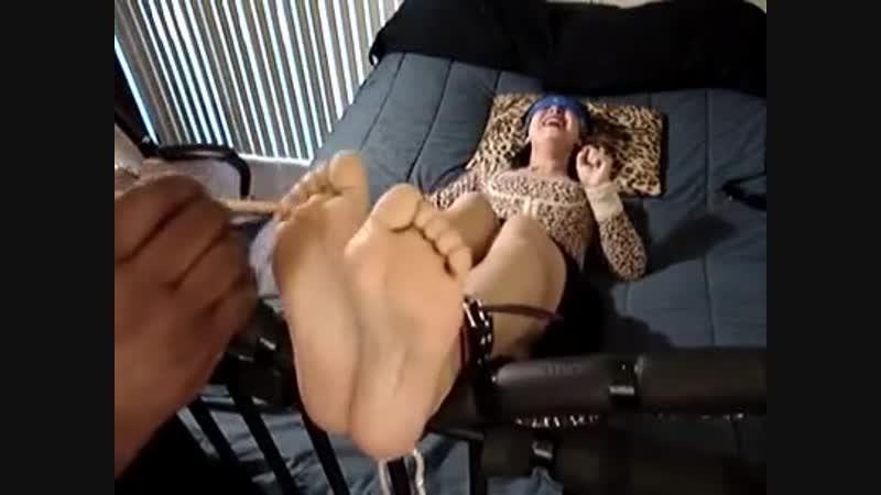 Mature Feet Tickle lick torture
