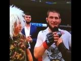 Поздравляем ХАБИБА С ЭТОЙ ПОБЕДОЙ. ПОЯС UFC приедет в Россию.