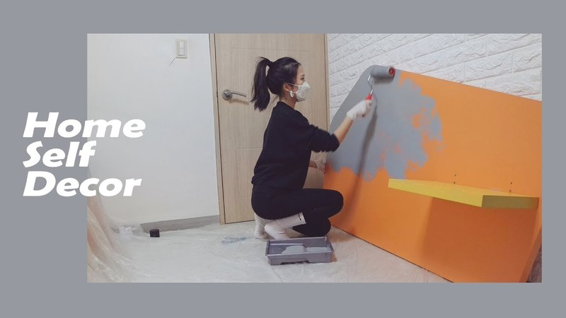 VLOG ✨방 꾸미기 2탄✨ 방 인테리어 편 셀프 페인팅 넘 힘들어요ㅠㅠ 페어리 540