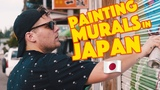 Painting Murals in Japan - Ten Hundred