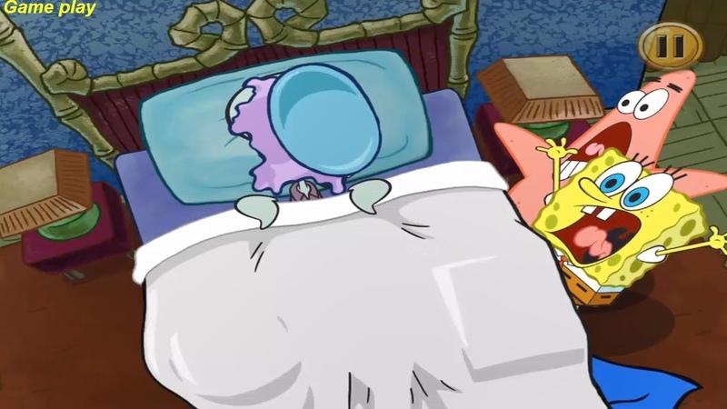 SpongeBob's Game Frenzy - Spongebob All Fail Compilation Part 1 - Nickelodeon Games
