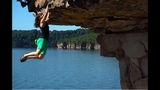 Deep Water Solo Climbing at Summersville Lake, WV - #GoToWV