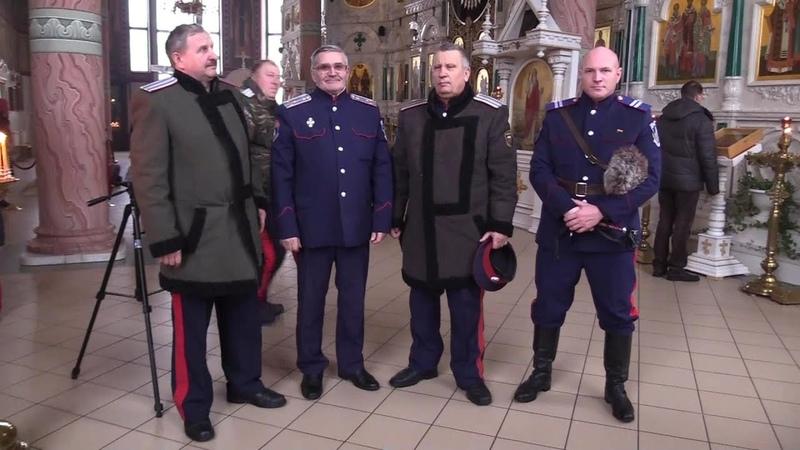 В связи с пятилетием празднования Россошанской епархии Казаки СКВРиЗ приняли активное участие
