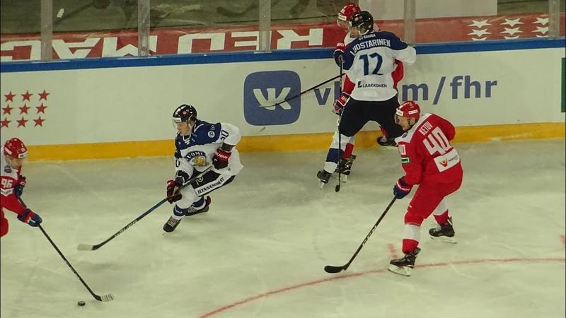 Россия 50 Финляндия с трибуны Санкт-Петербург Арены