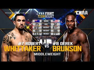 UFC 225 Free Fight Robert Whittaker vs Derek Brunson
