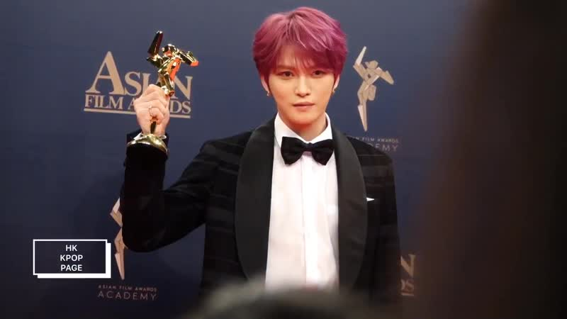 190317 金在中 김재중 KIMJAEJOONG ASIAN FILM AWARDS BACKSTAGE INTERVIEW_Full-HD