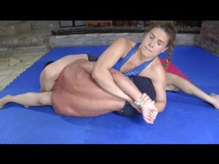 Orsi B vs Sunny (Mixed Wrestling)