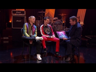 Muse — interview on later…with jools holland
