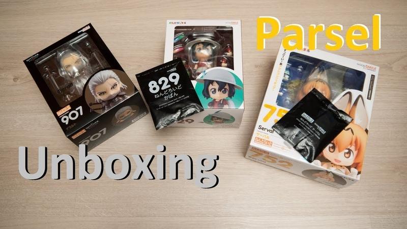 Unboxing parcel AmiAmi 40 (Nendoroids)
