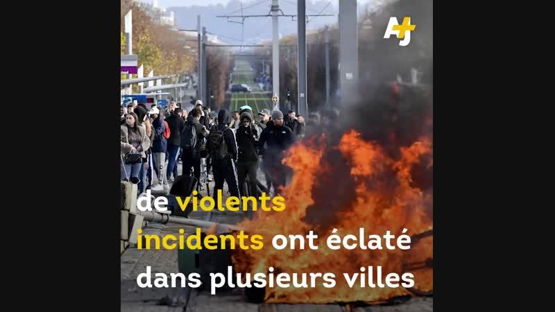 """""""Cest de la répression dans le but de démobiliser les lycéens"""". LIGPN a été..."""