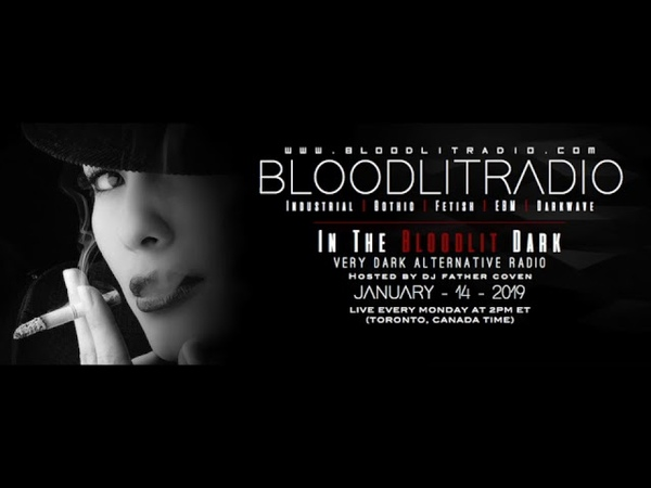 In The Bloodlit Dark! January - 14 - 2019 (Industrial, EBM, Gothic, Synthpop, Darkwave)