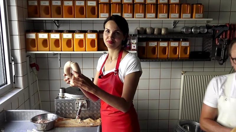 Семейный бизнес в Германии. Мясная лавка.