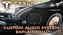 Tesla Model S P100 Custom Upgraded Stereo System EXPLAINED!!
