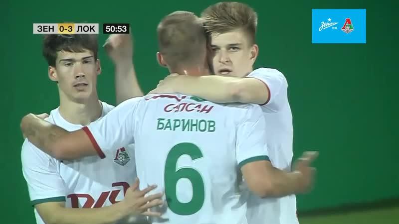 Зенит - Локомотив 0:3. Гол-красавец Миронова