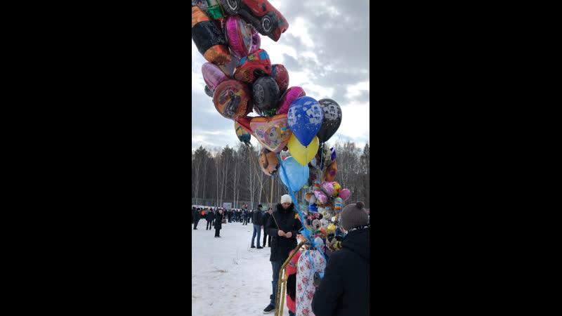 Благотворительная ярмарка для Милы Казымовой на масленице стадион «Северный»