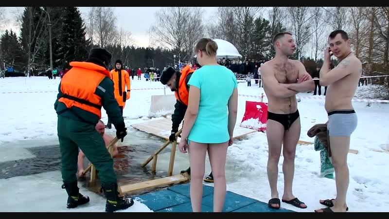 Крещение - 2019 в Верхнедвинске.