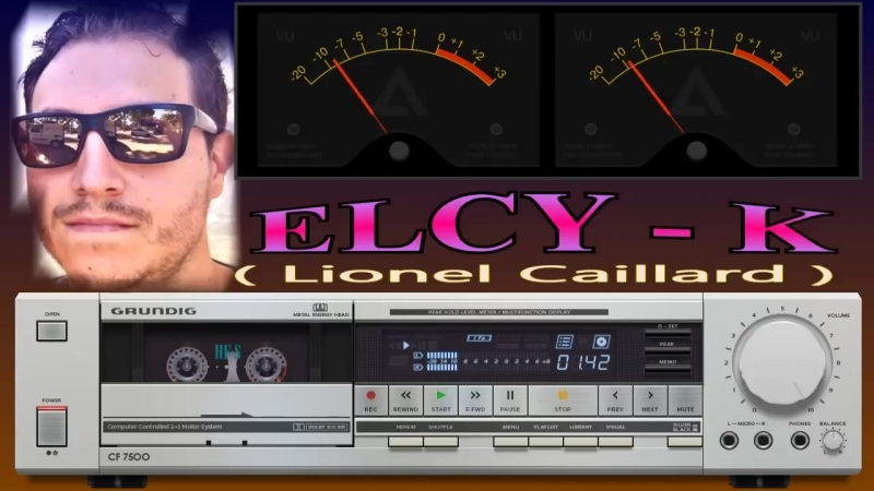 ELCY K - Original 5 tracks( by GRUNDIG CF 7500 sylver) skin