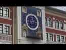 площадь Ново-Оболенского. Часы с осликом