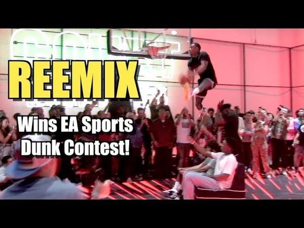 NBA Live 19 DUNK CONTEST! Reemix - JClark - Isaiah - Bionic Brooks!