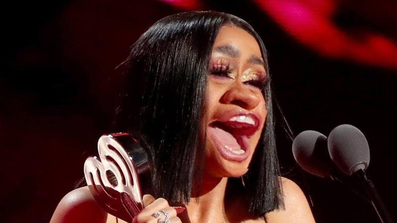 Cardi B Speech But She Only Makes Weird Noises