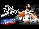 Utah Jazz Full Team Highlights 2018.09.29 vs Perth Wildcats - 130 Points! FreeDawkins