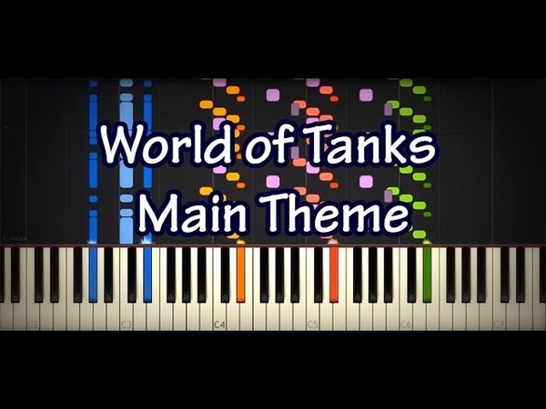 WoT Main Theme Impossible Piano Cover World of Tanks OST