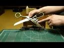 Заточка бытовых ножниц на Костыль 2