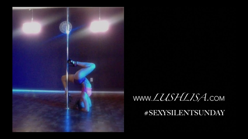 Sexy Silent Sunday Freestyle Pole Dance to Wicked Games