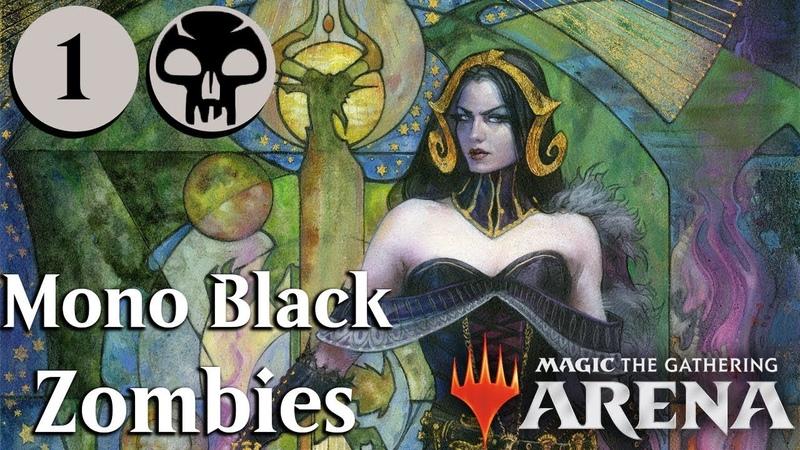 MTG Arena Beta | Mono Black Zombies Gameplay Se. 2 Ep. 1 [Shallow Graves] » Freewka.com - Смотреть онлайн в хорощем качестве