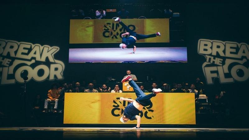Break The Floor 2019 | Judge exhibition | Bboy Simo Croc