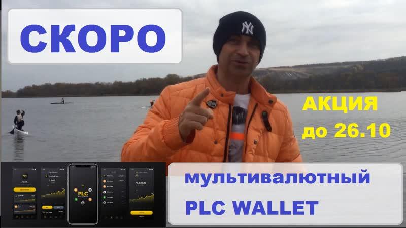 Платинкоин Акция продлена до 26.10 ! Анонс мультивалютного кошелька PLC WALLET Platincoin Факты