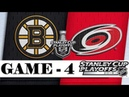 Boston Bruins vs Carolina Hurricanes | Eastern Conference final | Game 4 | Stanley Cup 2019 | Обзор