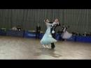 Вова Вика Открытые Российские соревнования по танцевальному спорту Чемпионат ЮФО Студенты стандарт Шахты 2018 г