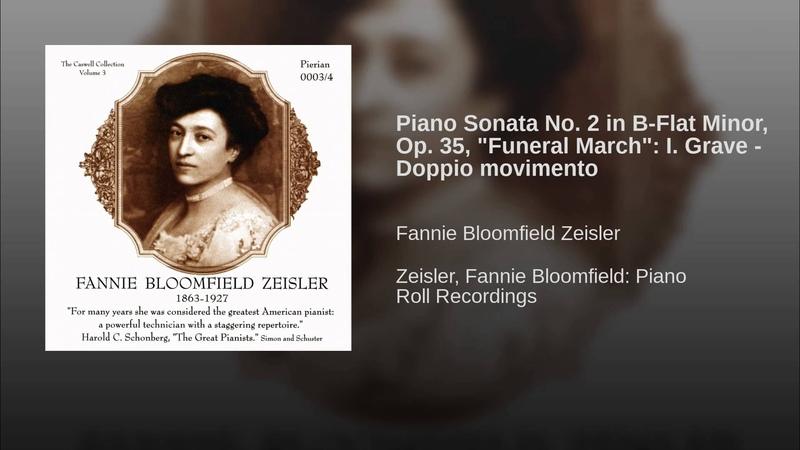 Piano Sonata No. 2 in B-Flat Minor, Op. 35, Funeral March: I. Grave - Doppio movimento