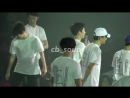 chanyeol being idiots in love from opposite sides of the stage