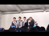 U-KISS fancam - SCANDAL Release Event - @Osaka, Morinomiya Q's Mall BASE (05.10.18)